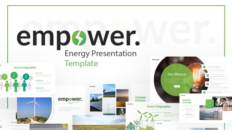 Empower Energy PowerPoint Template
