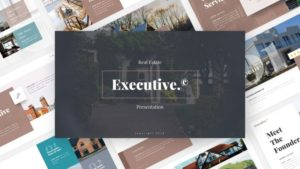 Executive House PowerPoint Template