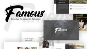 Famous Travelling PowerPoint Template
