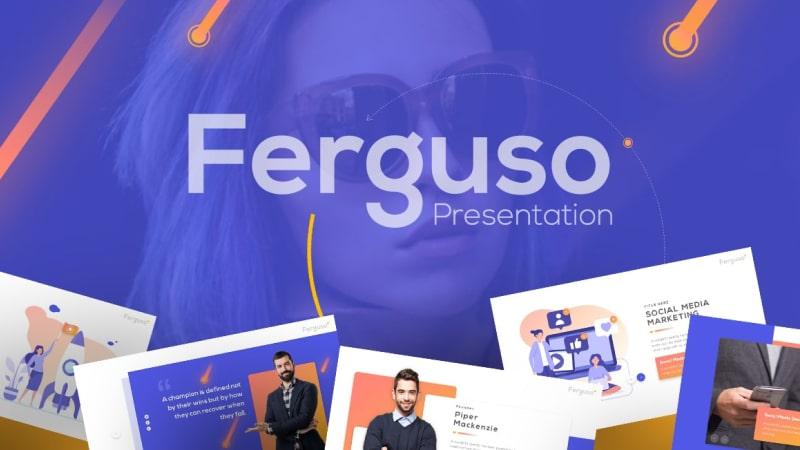 Ferguso Business PowerPoint Template