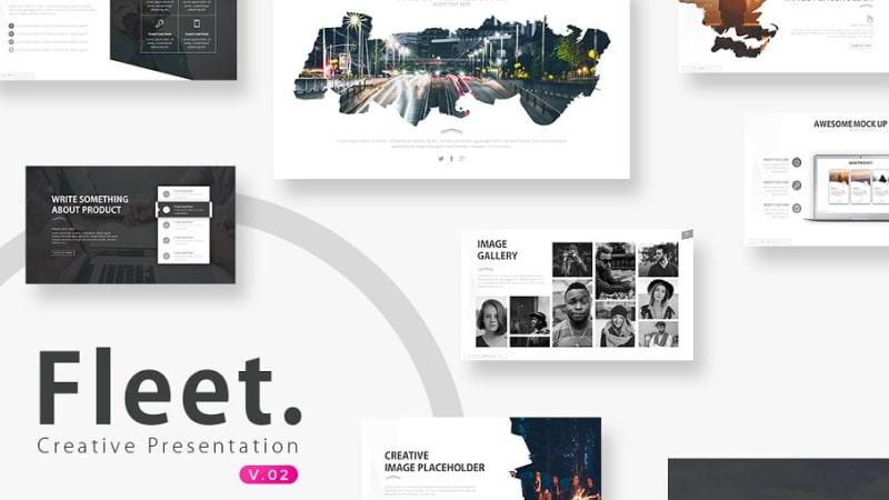 Fleet Photography PowerPoint Template