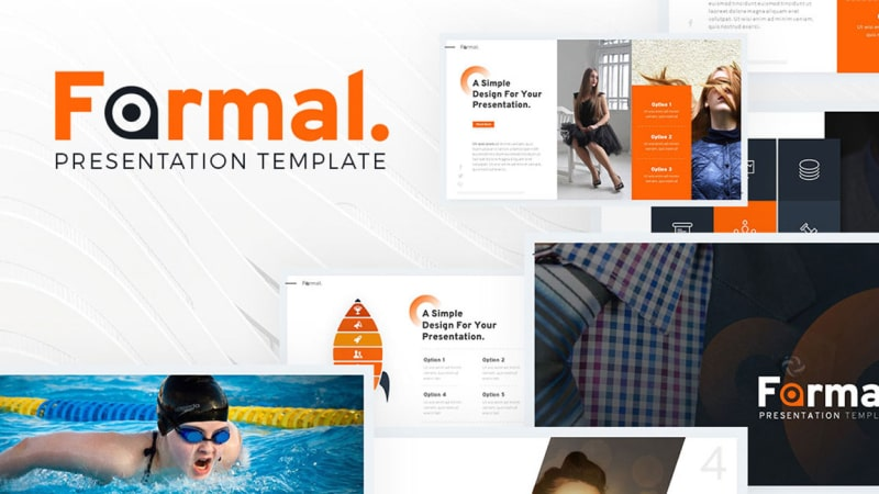 Formal Photography PowerPoint Template
