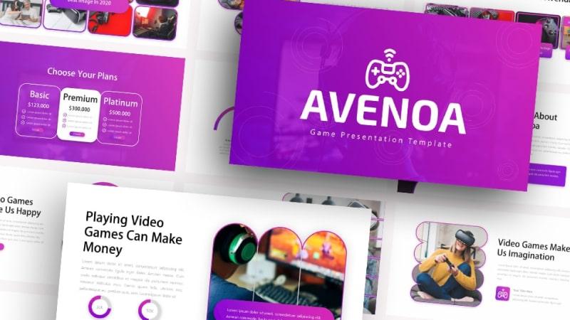 Avenoa Technology PowerPoint Template