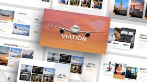 Free-Air-Lines-Viation-Presentation-Template