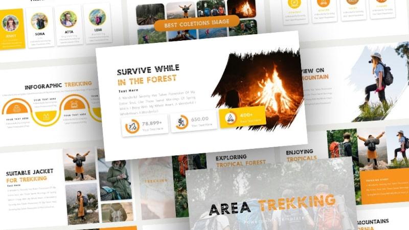 Trekking Adventure PowerPoint Template
