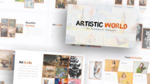 Free-Art-World-Art-Powerpoint-Template