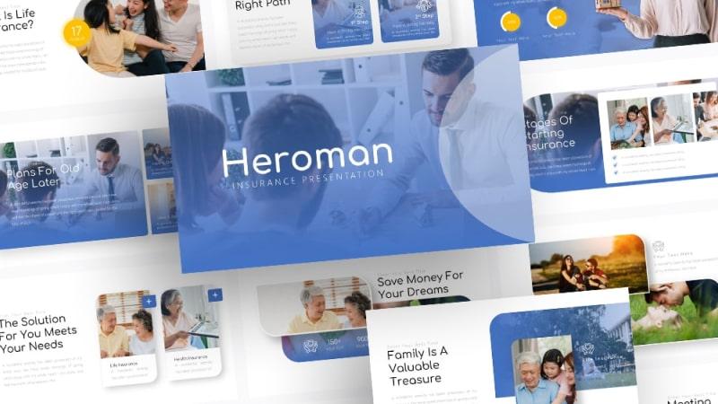 Free Heroman Health PowerPoint Template