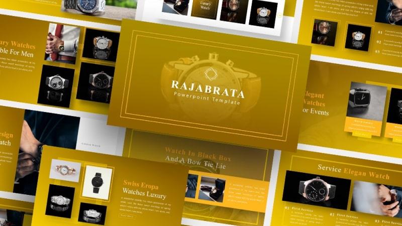 Free Rajabrata Watch PowerPoint Template