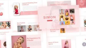 Free-Simon-Modelling-Class-Powerpoint-Template