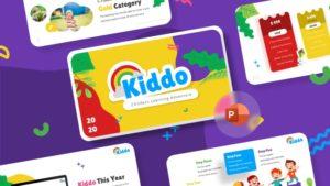 Kiddo Education PowerPoint Template