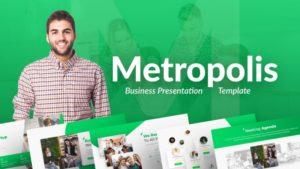 Metropolis Business PowerPoint Template