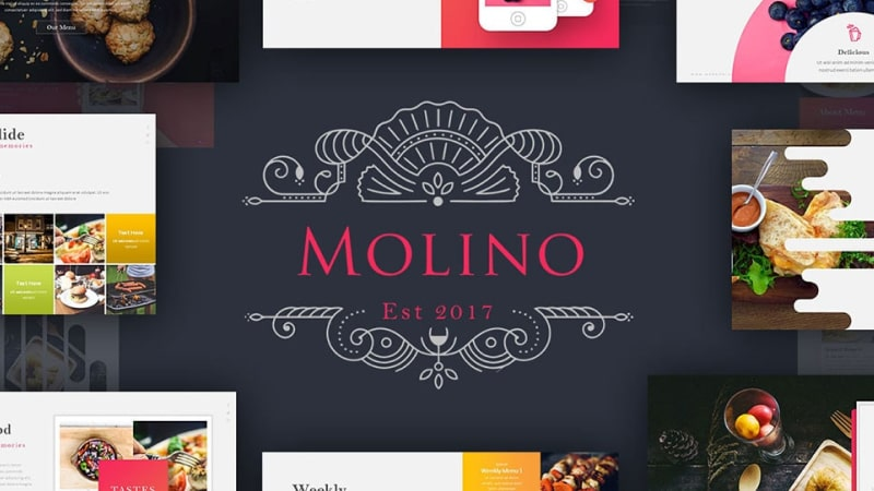 Molino Culinary PowerPoint Template