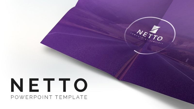 Netto Company PowerPoint Template