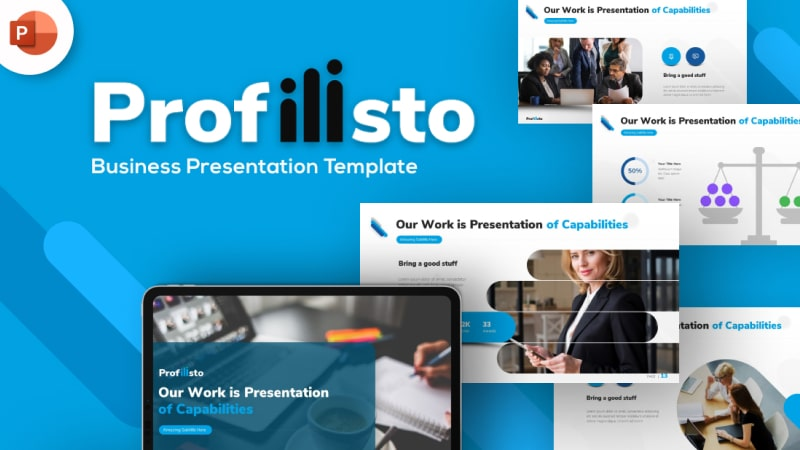Profilisto Business PowerPoint Template