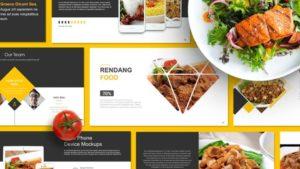 Restaurant Culinary PowerPoint Template