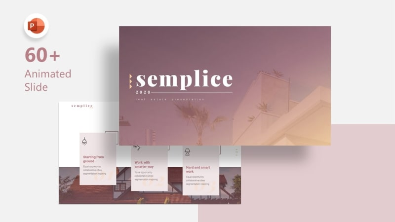 Semplice Residence PowerPoint Template