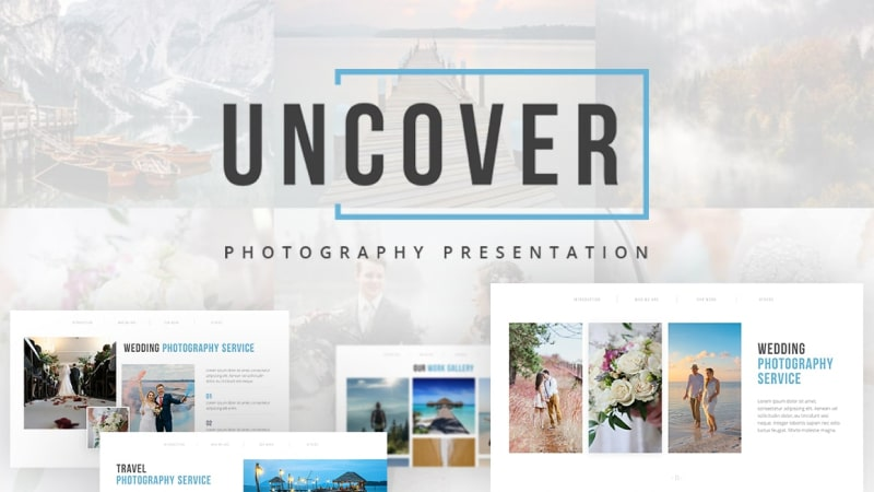 Uncover Photography PowerPoint Template