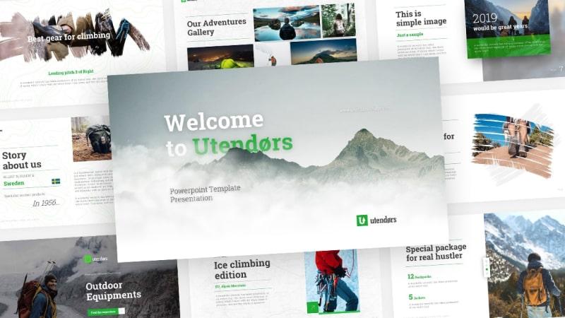 Utendors Adventure PowerPoint Template