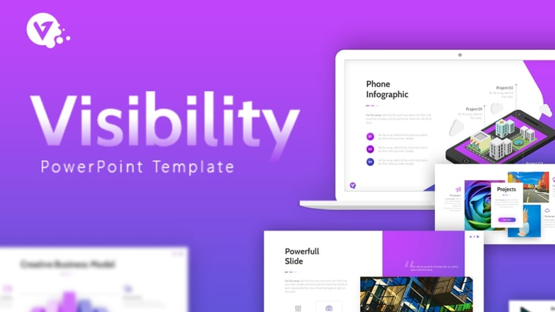 Visibility Artistic PowerPoint Template