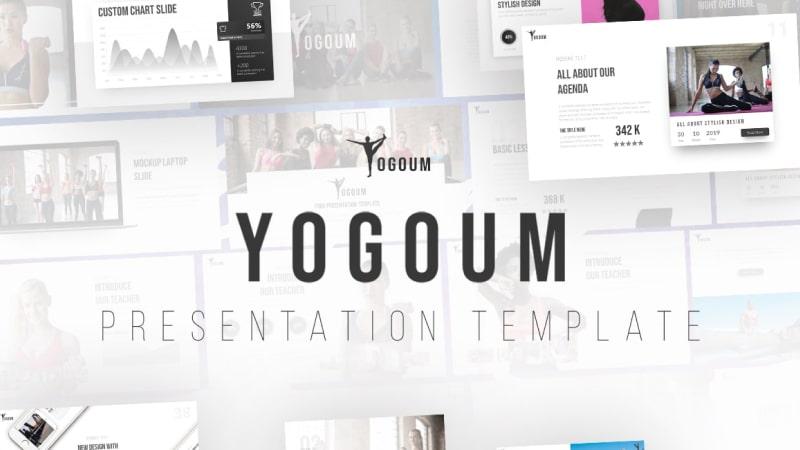 Yogoum Sports PowerPoint Template