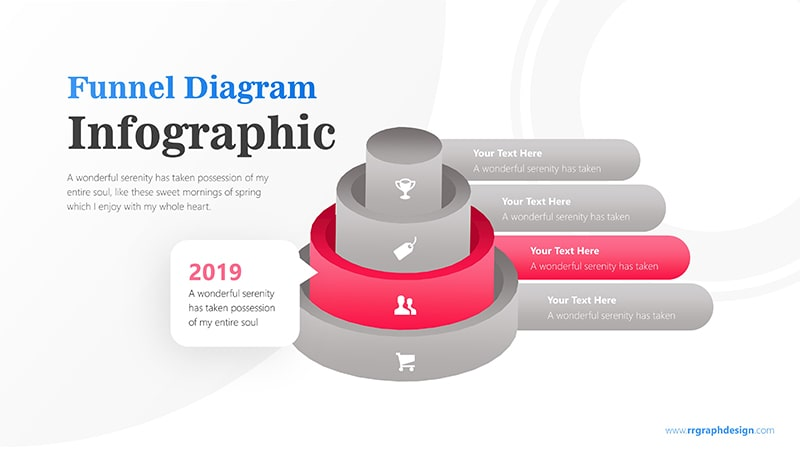 Tube Infographic PowerPoint Template