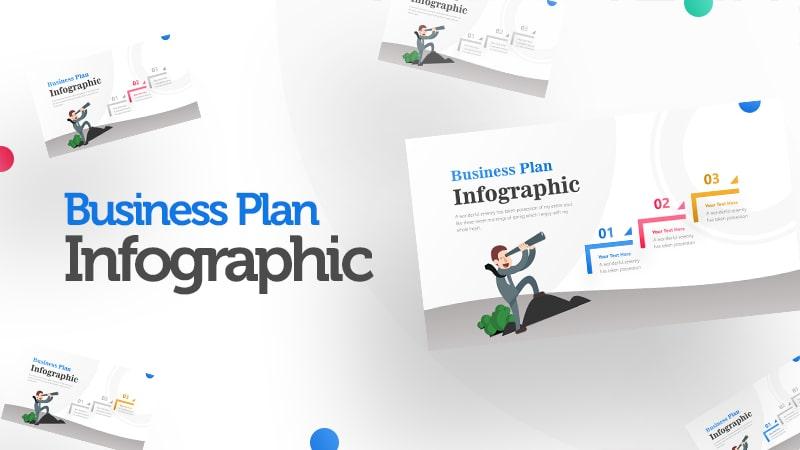 Binocular Infographic PowerPoint Template