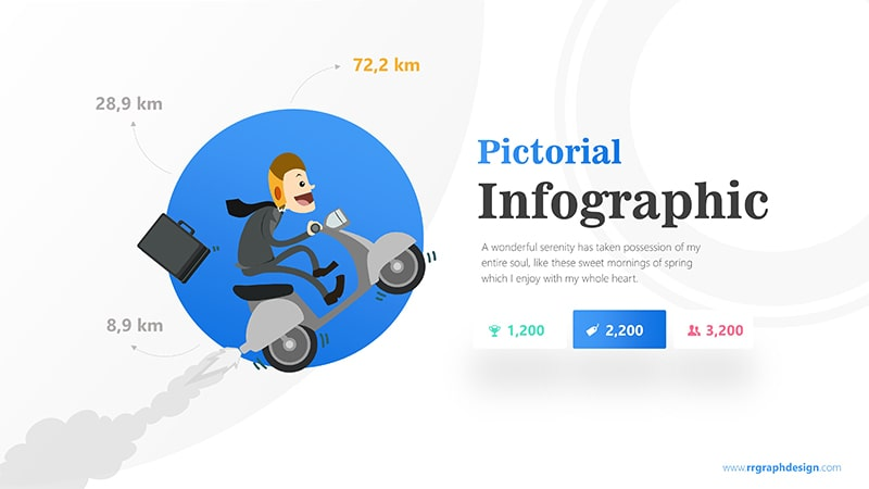 Working Infographic PowerPoint Template