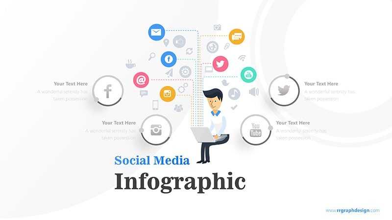 Businessman Infographic PowerPoint Template