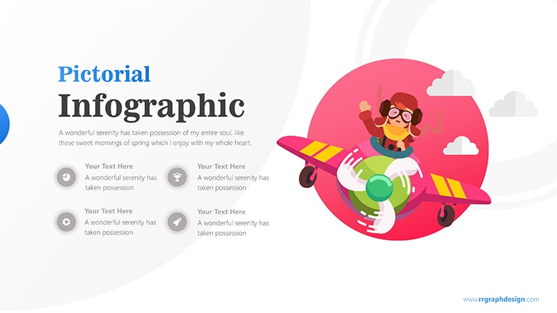 Airplane Infographic PowerPoint Template