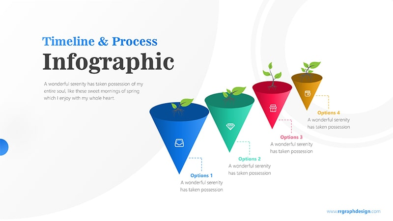 Funnel Template PowerPoint: Growth Plant