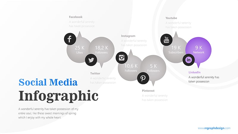 Bubble Infographic PowerPoint Template