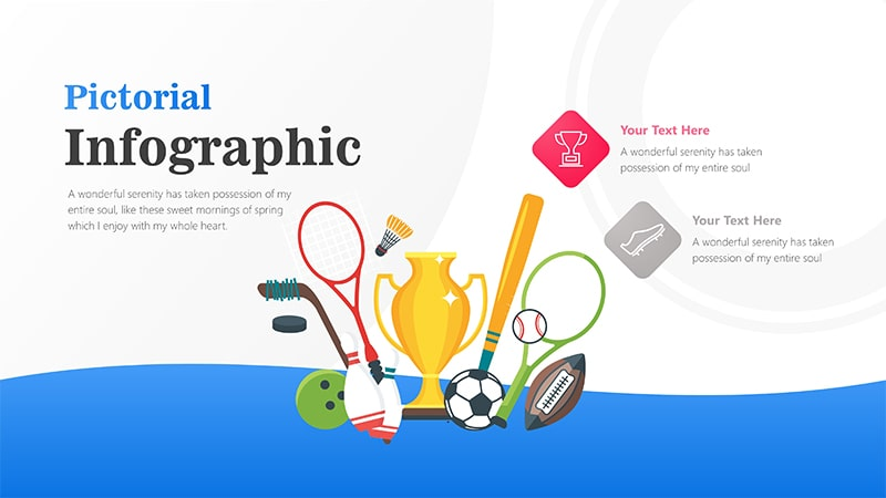 Trophy Infographic PowerPoint Template