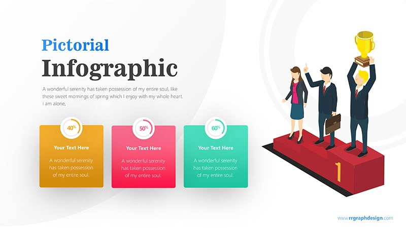 Winner Infographic PowerPoint Template: Pictorial