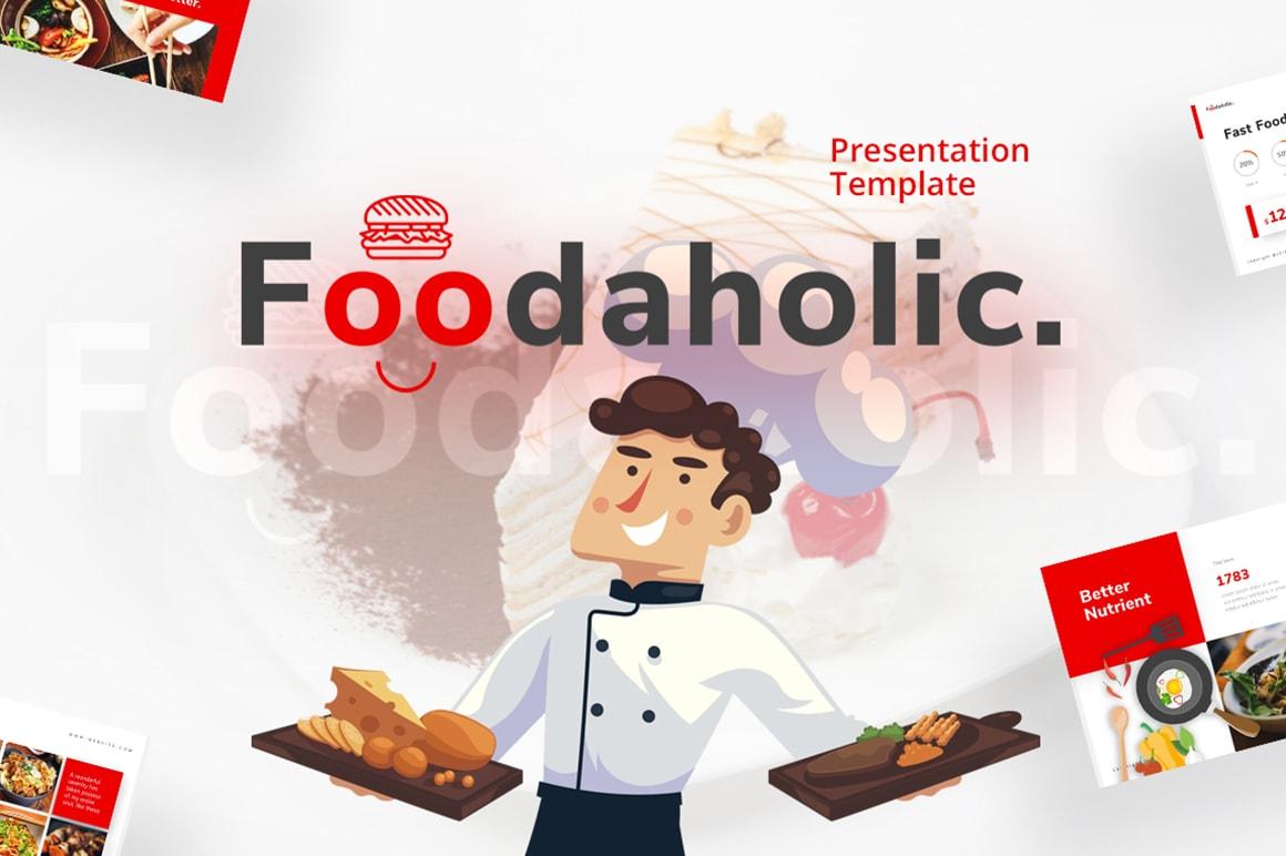 Foodaholic – Cafe Presentation Template
