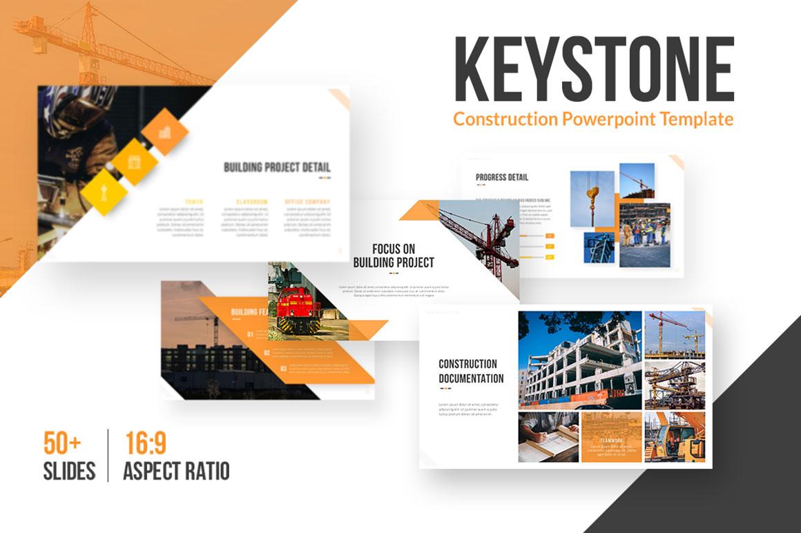 Keystone Architecture PowerPoint Template