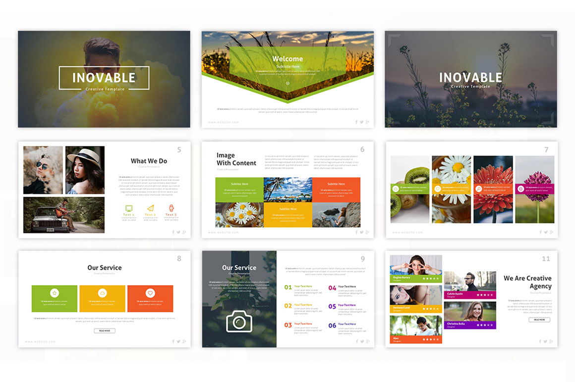 Inovable – Innovative Presentation Template