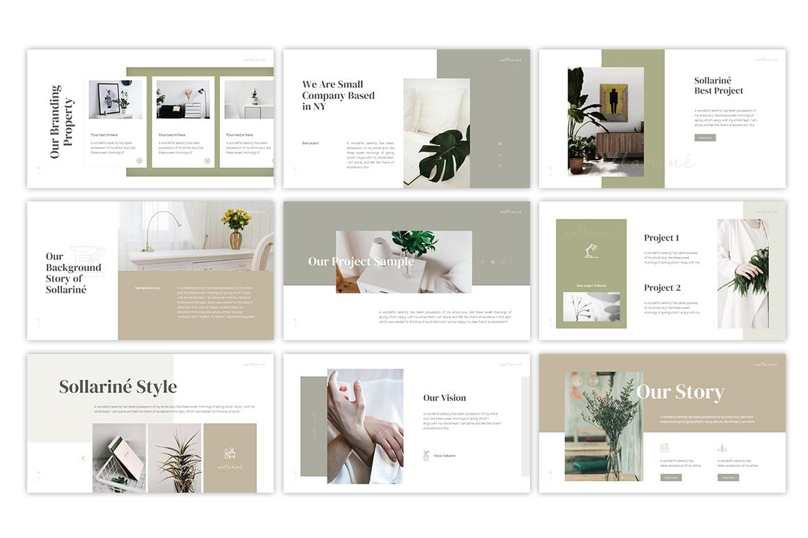 Sollarine Interior PowerPoint Template