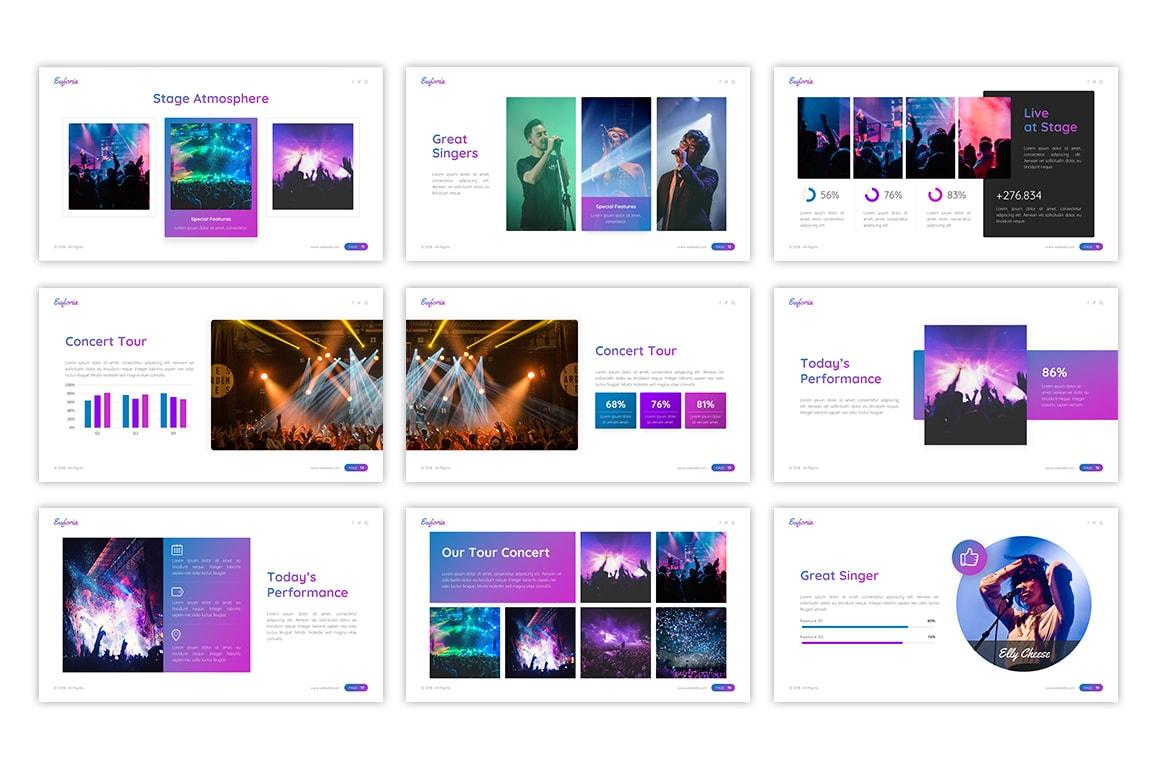 Euforia – Stage Presentation Template
