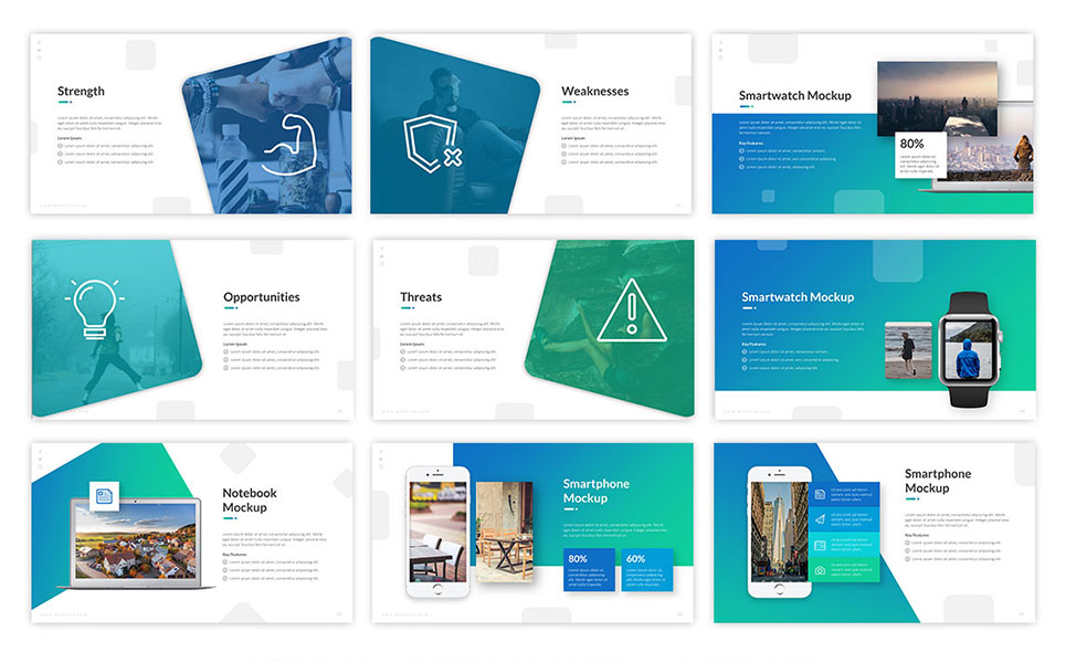 Convey Business PowerPoint Template