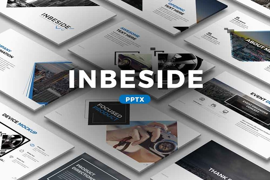 Inbeside Photography PowerPoint Template