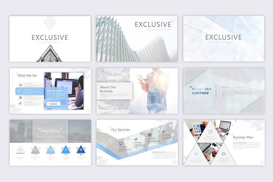 Exclusive – Corporate Presentation Template