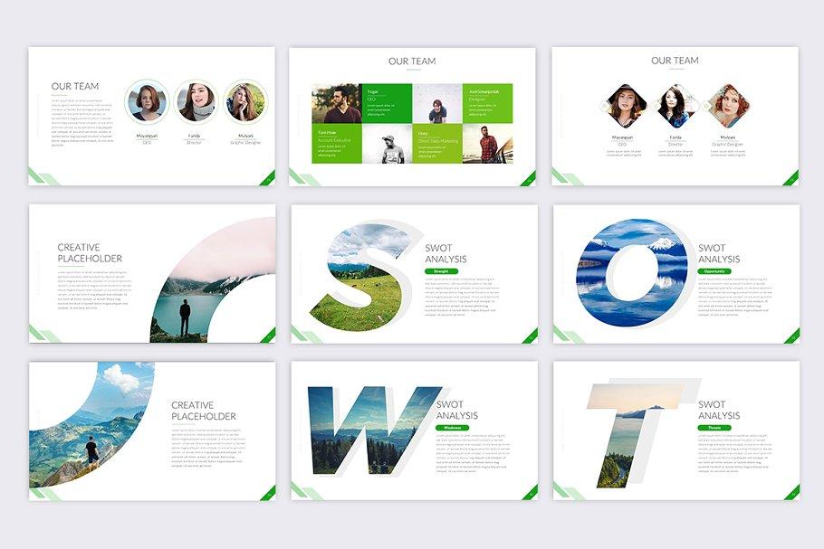 Inspiring Business PowerPoint Template