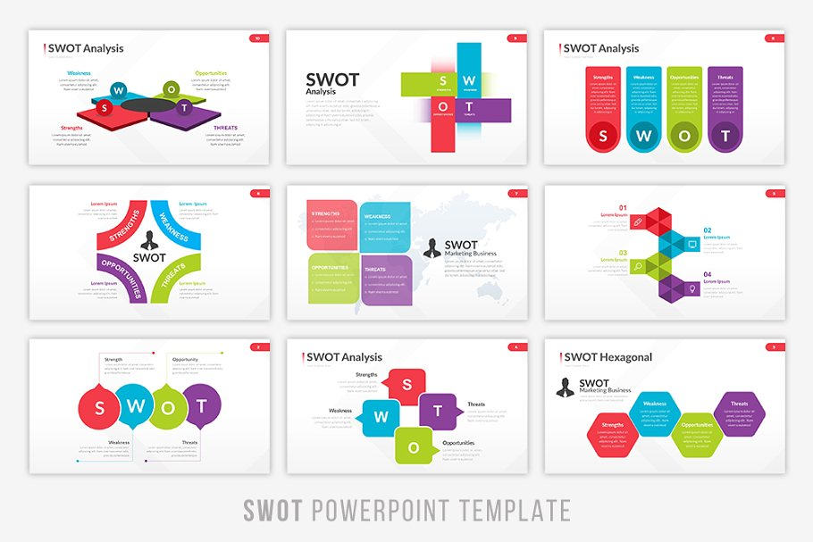 Pattern Infographic PowerPoint Template