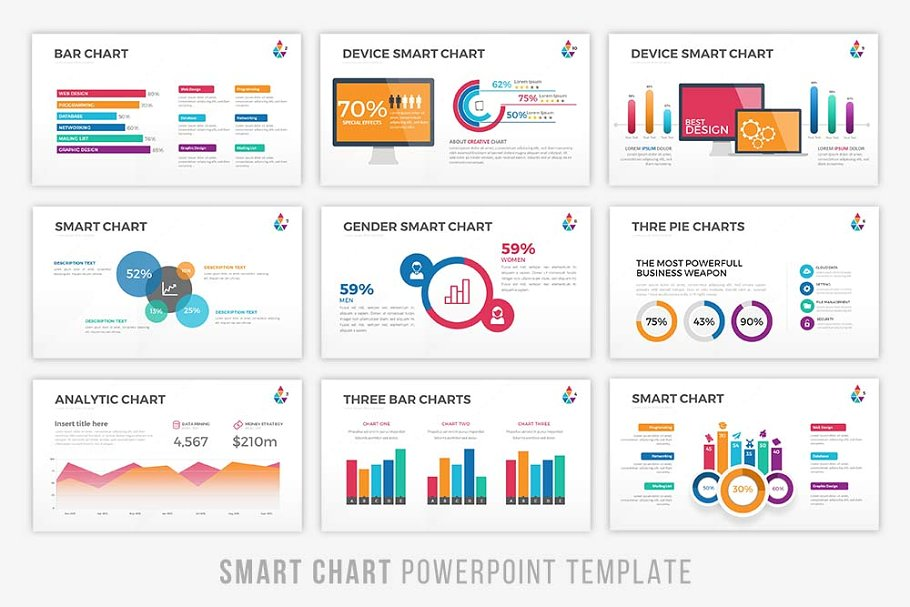 Smartchart Infographic PowerPoint Template