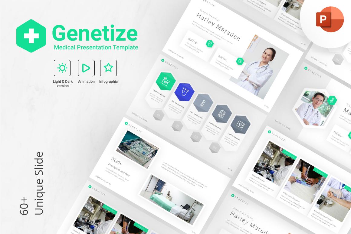 Genetize Medical PowerPoint