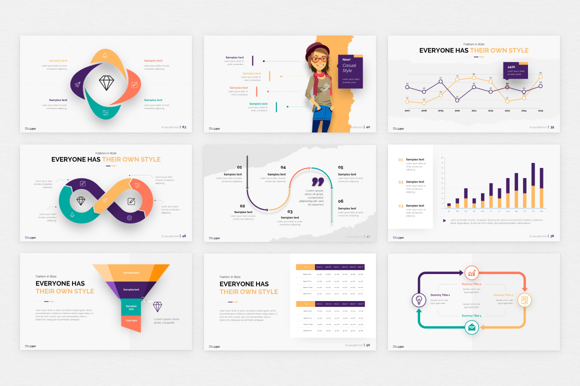 Strappo Fashion Powerpoint Template