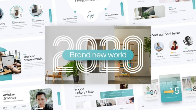 2020 Brand Multipurpose PowerPoint Template