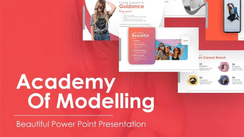 Academy Of Modelling Beautiful Presentation