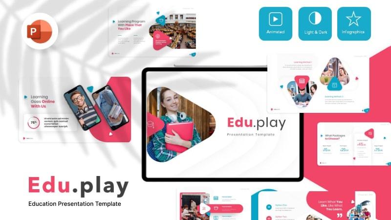 Eduplay Education PowerPoint Template