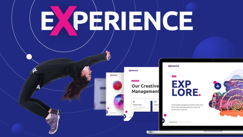 Experience Art PowerPoint Template